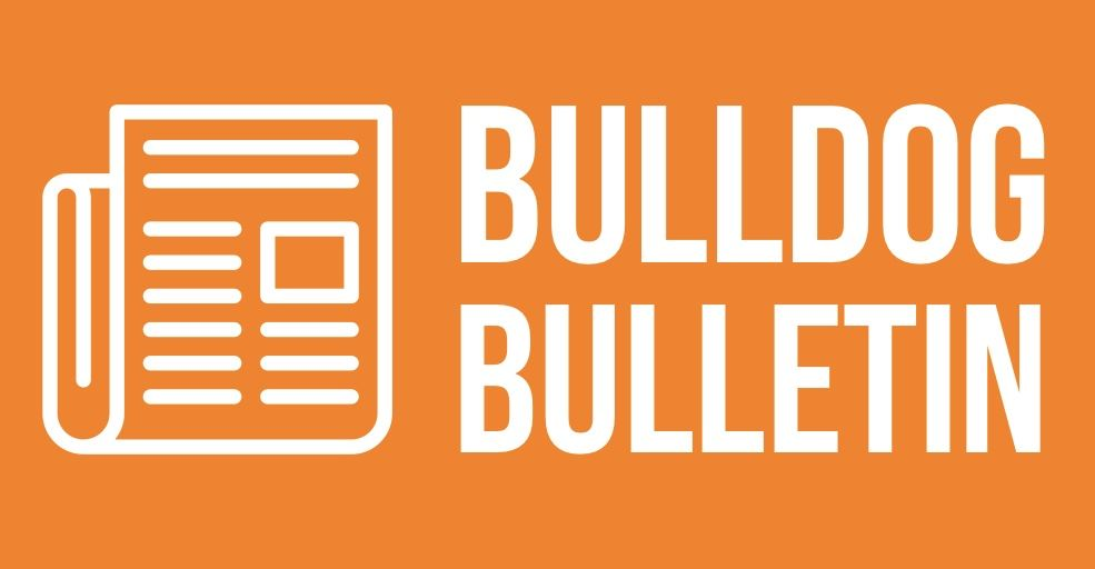 Weekly Bulldog Bulletin 9/27